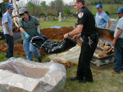 Exhumed bodies from caskets exhumed bodies from caskets http